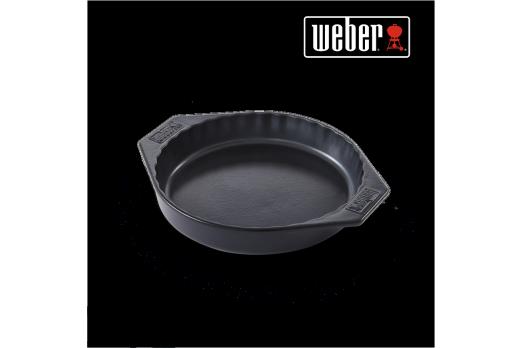 WEBER keramiskais trauks pīrāgam - 30cm, 17887
