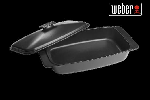 WEBER CERAMIC CASSEROLE DISH - 42,1 X 22,6 CM, 17888