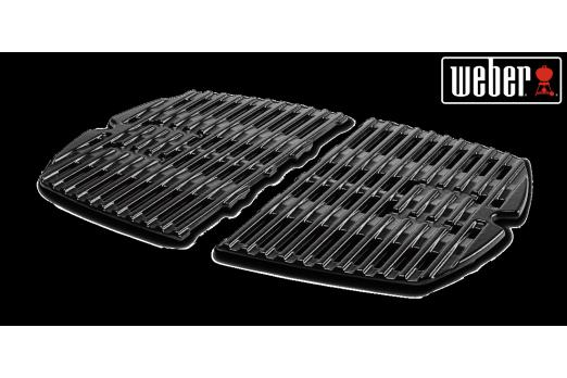 WEBER Cooking Grates fits Q100/1000 grills, 7644