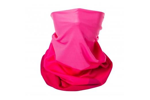 ELEVEN multifunctional scarf cap TOP 2 rozā