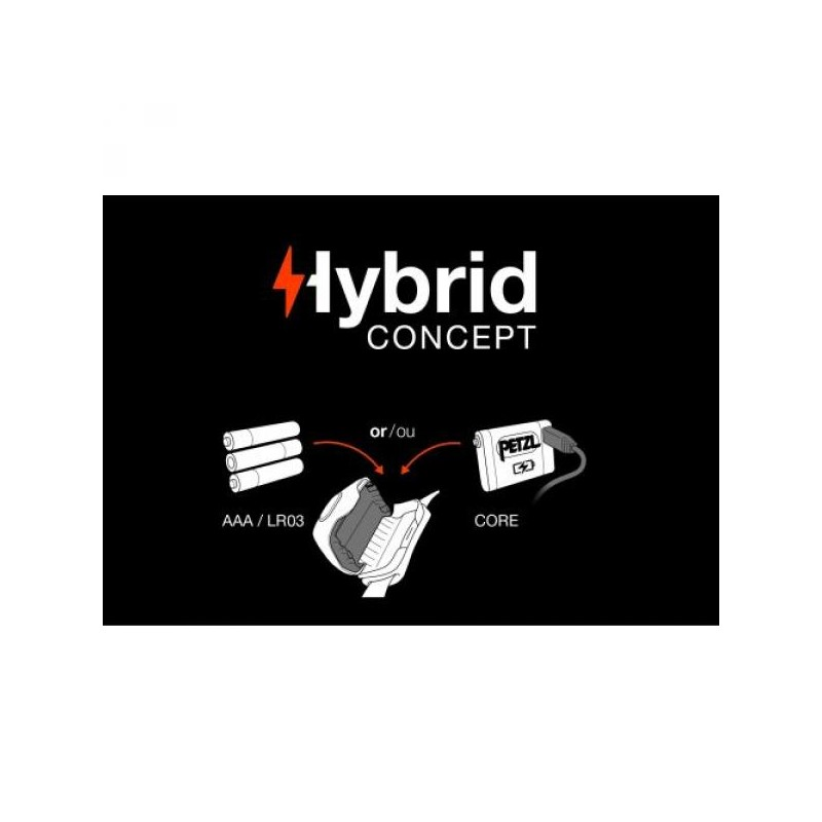 Lukturi Petzl Tactikka® + Hybrid