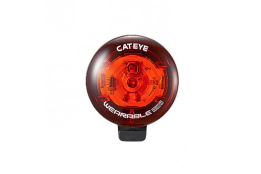 CATEYE light WEARABLE MINI red