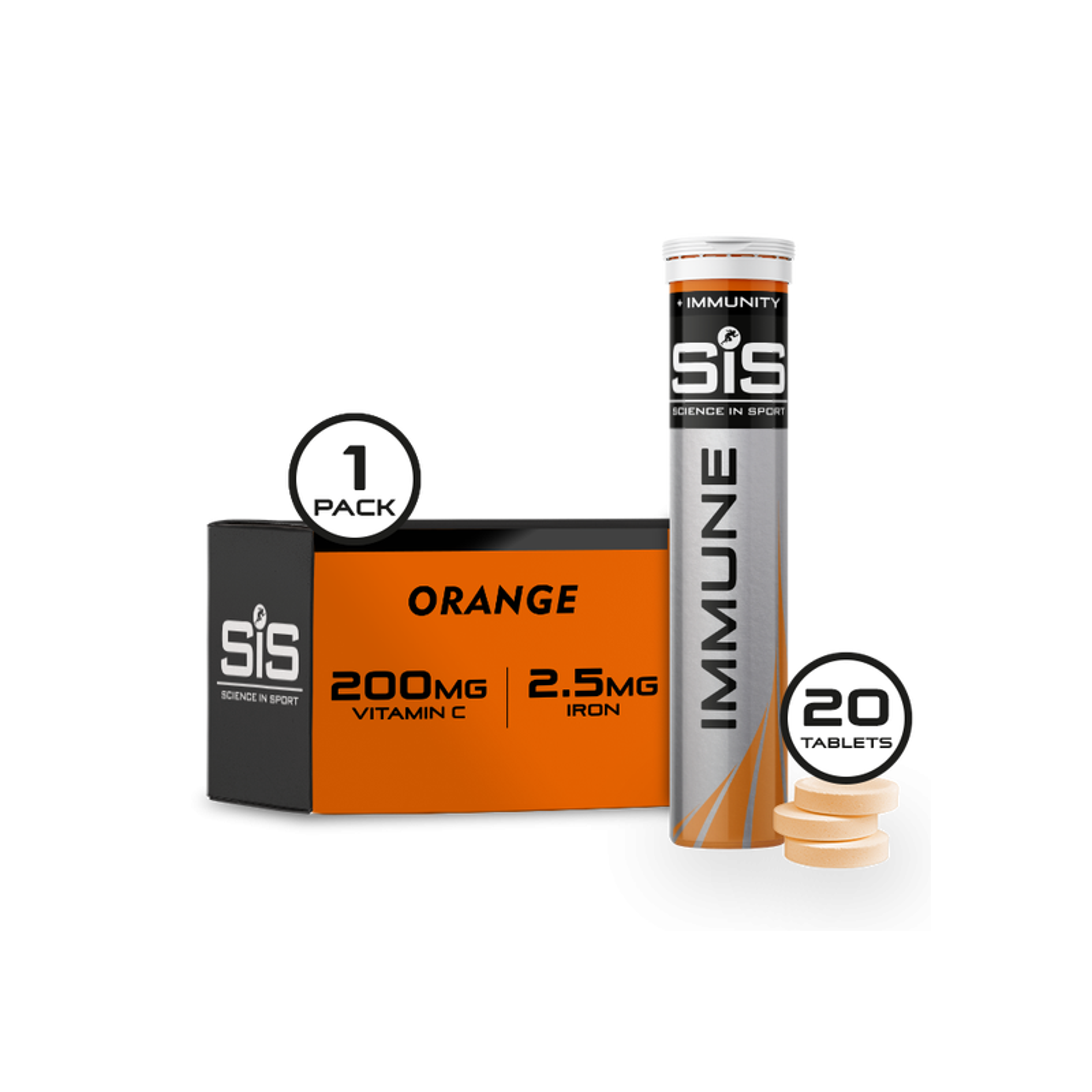 SIS Nutrition Tablet Go Immune 20x4g