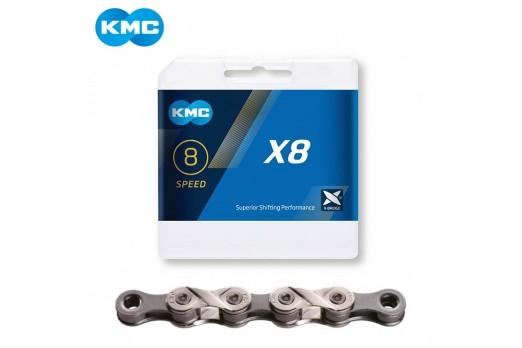 KMC chain X8 silver