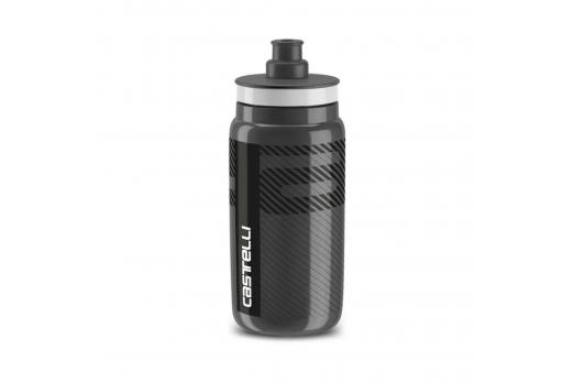 CASTELLI ūdens pudele melna
