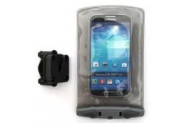 Ūdensdrošie maisi un iepakojumi Aquapac Small Bike-Mounted Waterproof Phone Case