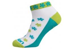 ELEVEN socks LUCA FLOWER green