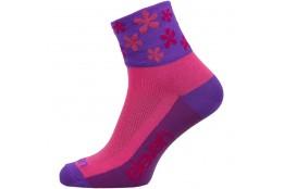ELEVEN socks HOWA FLOWER pink
