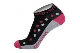ELEVEN socks LUCA RHOMB violet