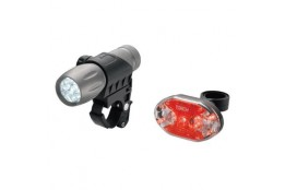 Velo lukturi TORCH High Beamer Tactical 9 + Tail Bright 9X