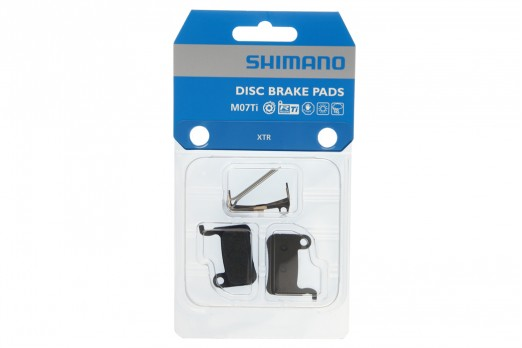 Shimano XTR M07Ti resin brake pads