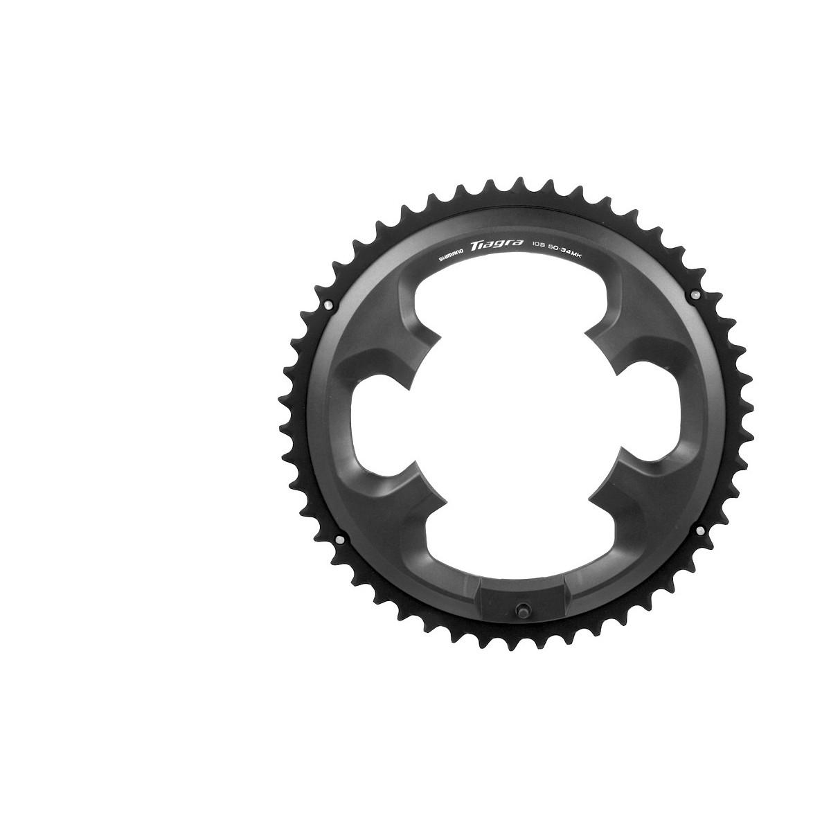 Road bike's front chainring Shimano Tiagra FC-4700 50T-MK black