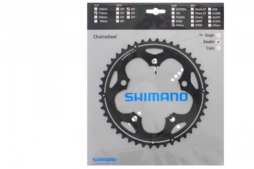 Shimano FC-CX70 46T cyclo-cross chainwheels