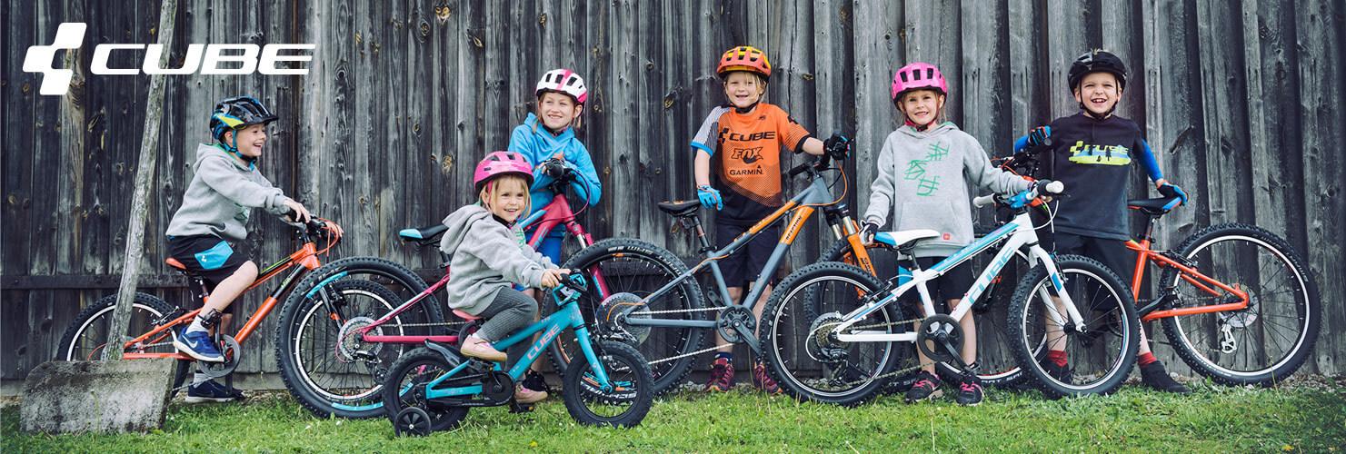 Bērnu velosipēdi Cube