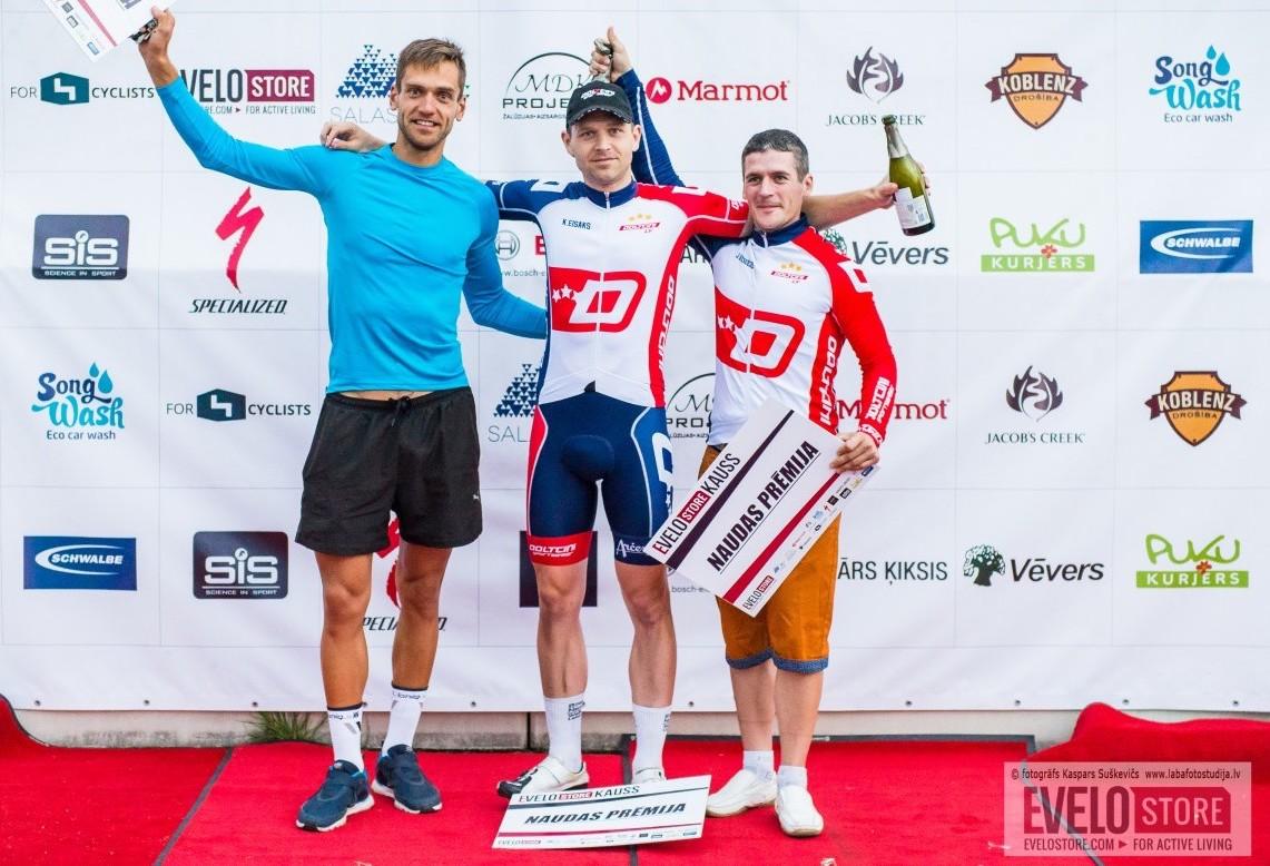 Kalvis Eisaks - Evelostore Kauss 2017 uzvarētājs